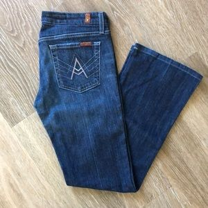 7 for all mankind A pocket Jeans (Woman's)